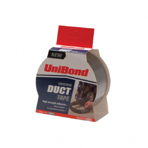 Unibond 1405197 Duct Tape 50mm x 50m Silver